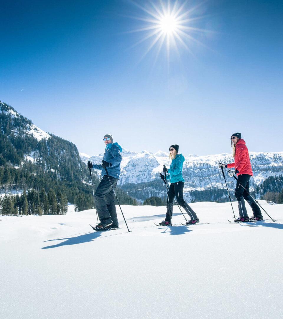 Schneeschuhwandern in Obertauern (c) Tourismusverein Obertauern