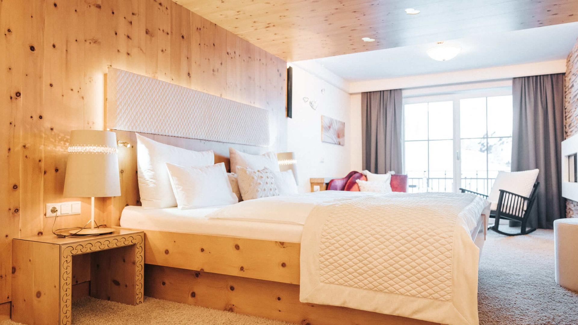 Zimmer im Hotel Schneider
