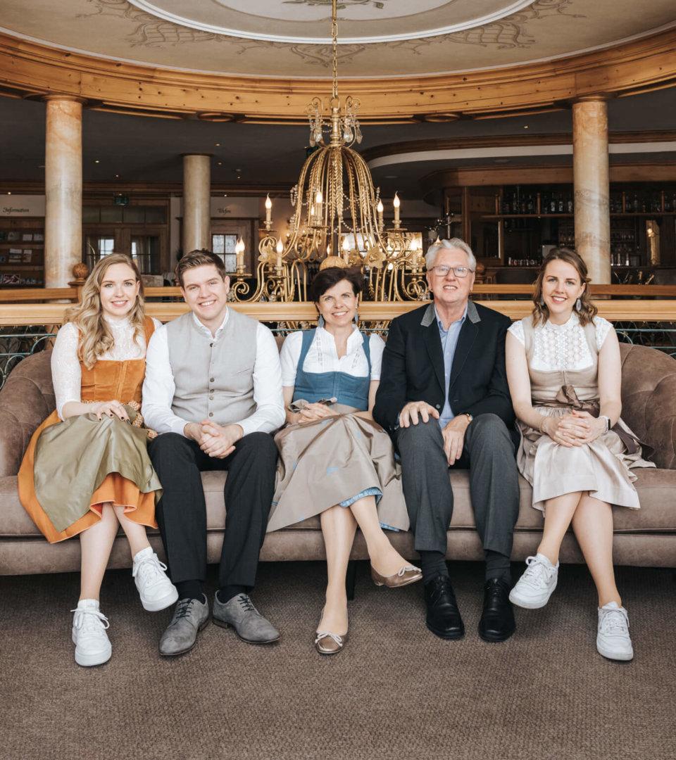 Familie Schneider Hotel Schneider Obertauern