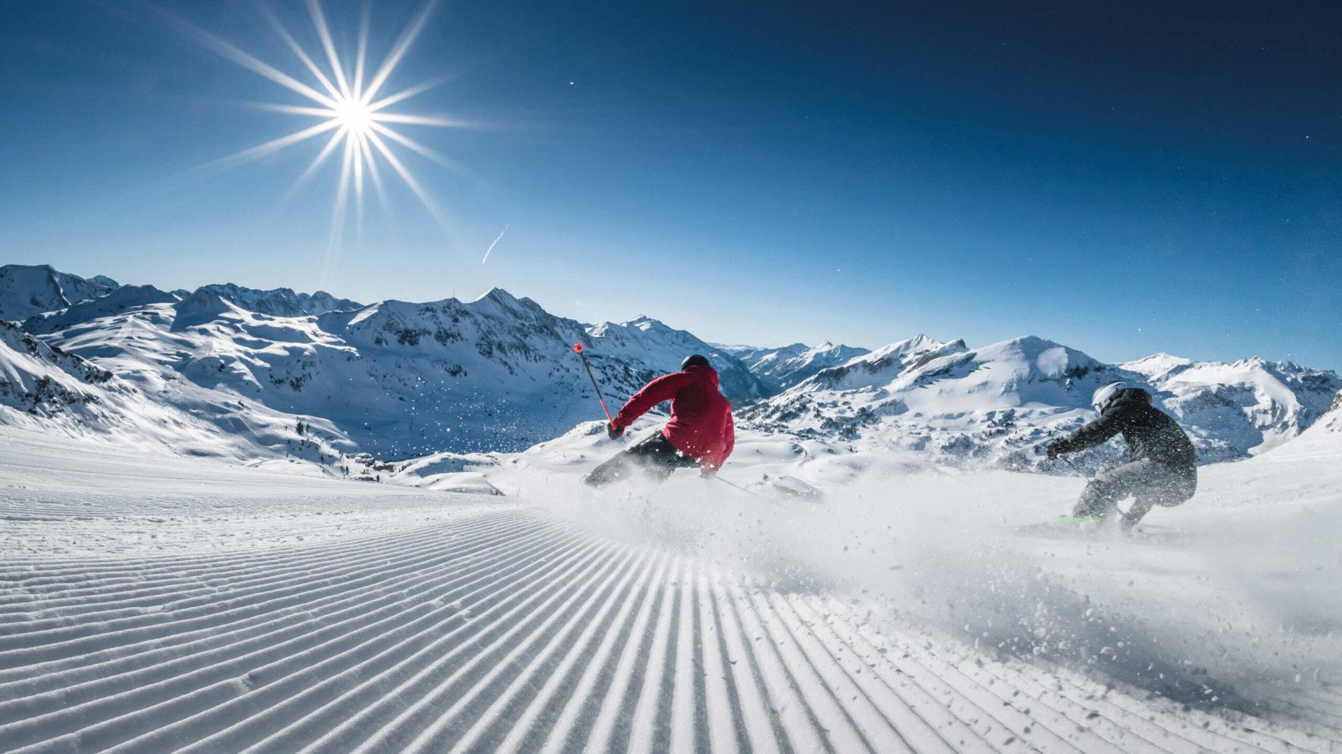 Skifahren in Obertauern (c) Tourismusverein Obertauern